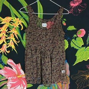 CONVERSE / Chiffon Floral Blouse